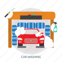 car, car washing, clean, polishing, washing icon