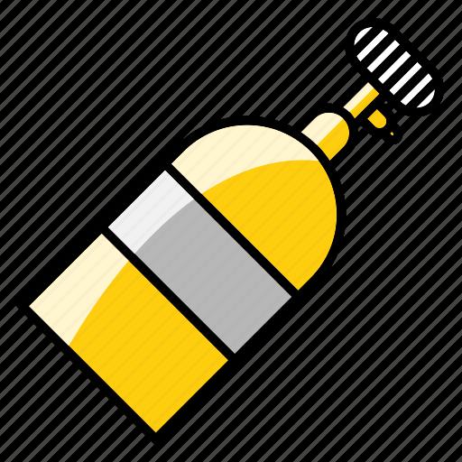 bottle, breathing tank, mechanic, nos, speed, tool icon