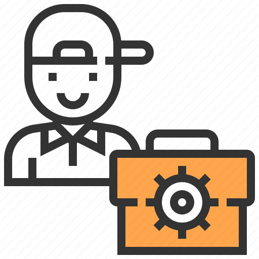 avatar, job, mechanic, occupation, people, user, worker icon