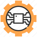 cogwheel, configuration, electronics, gear, settings, tools and utensils icon