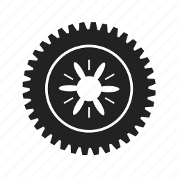 cog, cogwheel, configuration, element, equipment, fix, gear, gearwheel, industry, mechanism, repair, settings, shape, system, technical, tool, wheel icon