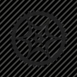 cog, cogwheel, configuration, element, equipment, fix, tool, wheel, work, working icon