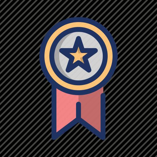 champion, medal, reward, star, trophy, winner icon