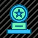 award, champion, medal, sports, trophy, win, winner icon