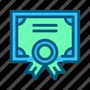 award, certificate, medal, reward, sports, trophy, winner icon