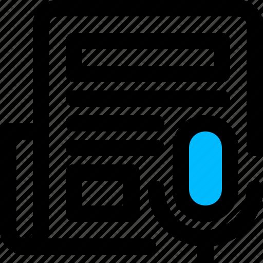news, press, release icon