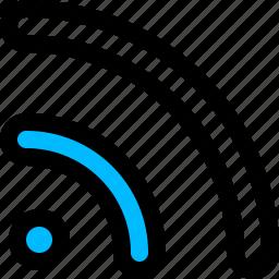 feed, rss, signal, wifi icon