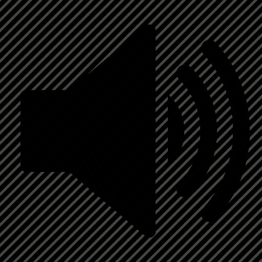 high, loud, sound, speaker, stereo, volume, watchkit icon