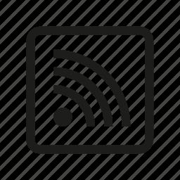 feed, media, rss icon