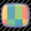 ntsc, pal, tv station icon