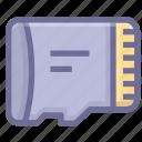 card, datas, memory, storage icon