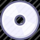 cd, disc, dvd icon