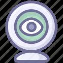 cam, camera, monitor, tracking icon