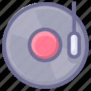disc, jukebox, music icon