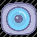 camera, monitor, movie, shotting, tracking icon