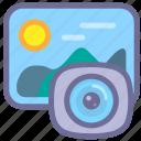 album, gallery, picture icon