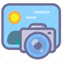 album, gallery, photography, picture icon