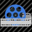 reel, movie, video, film, movie reel
