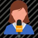 media, news, news media, news reporter, report icon