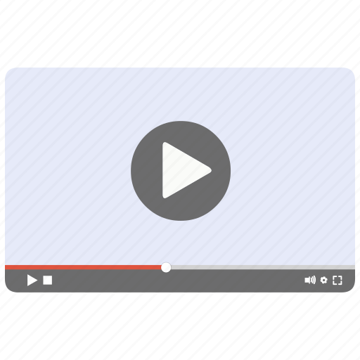 play, video, video player, youtube icon