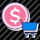 cost per acquisition, cpa, media, money icon