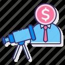 media, money, prospecting, social