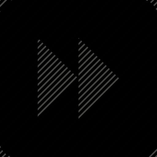 fast, fast forward, forward, media, multimedia icon