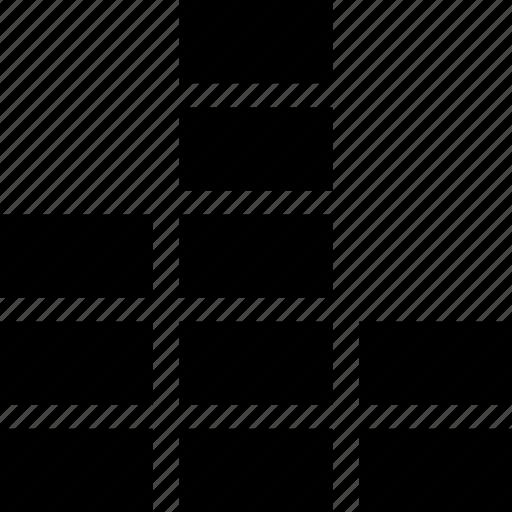 converging sound, equalizer, music, sound bar, volume bar icon