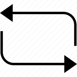 arrows, process, retweet, update icon