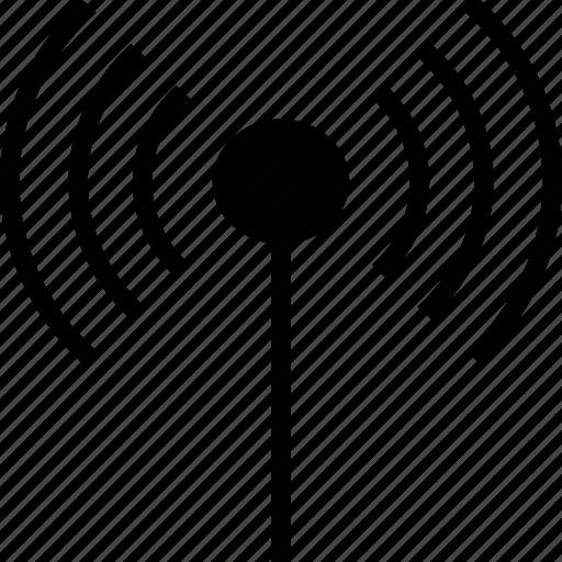 antenna, communication, internet, signals, wifi, wireless icon
