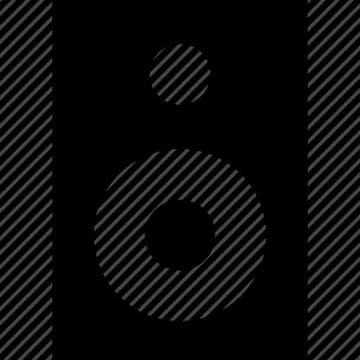 audio, loud, music, sound, speaker, woofer icon