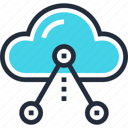cloud, internet, media, multimedia, network, share, social icon
