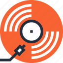 audio, disc, music, record, retro, vintage, vinyl