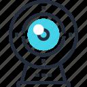 camera, communication, digital, stream, video, web, webcam