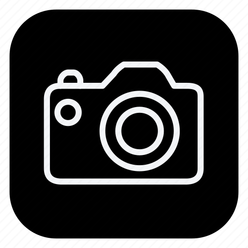 audio, camera, media, music, photography, video icon