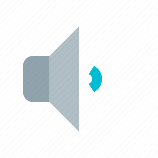 audio, medium, music, sound, speaker, volume icon