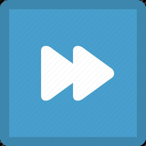 audio control, fast forward, forward, media button, media control, multimedia, next track icon