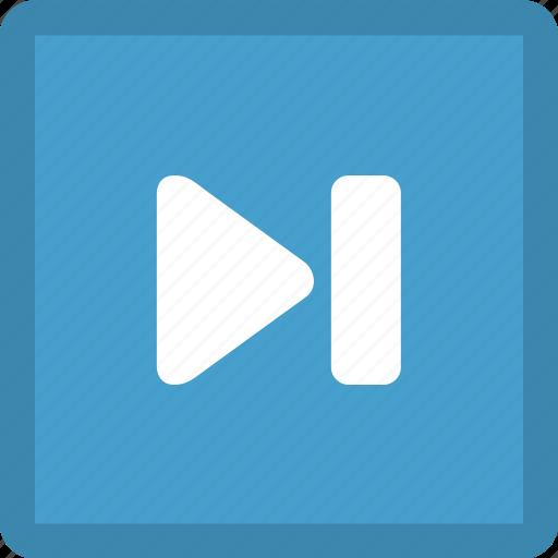 audio control, fast forward, last, media control, multimedia, next track icon