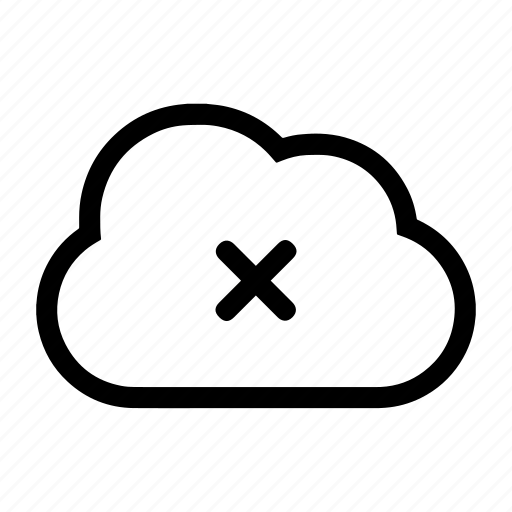 backup, backup failed, cloud, error, upload unsuccessful icon