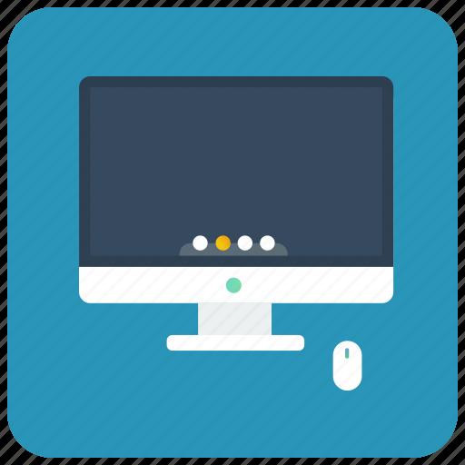 computer, imac, pc, personal computer icon
