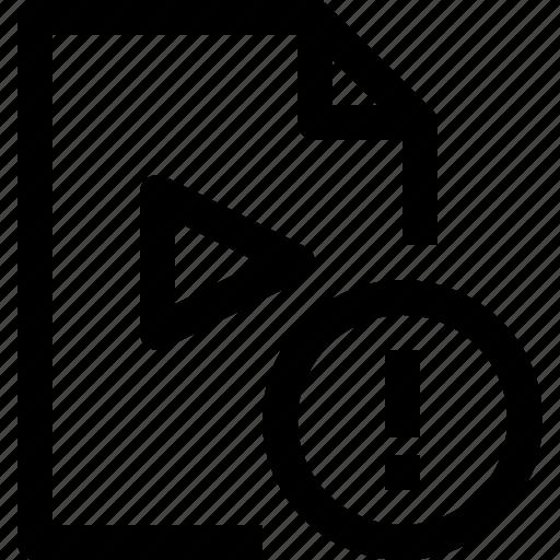 alram, document, file, media, multimedia, musicfile icon