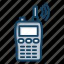 radio, transceiver, walkie talkie, wireless communication, wireless mobile icon