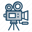 camera, gadget, photography camera, photoshoot camera, professional camera, video camera icon