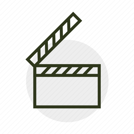 cinema, cinematography, clip, film, movie, screen, video icon