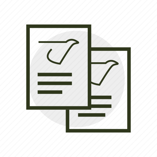 bill, document, journal, magazine, paper, writing icon