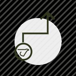 chart, circuitry, diagram, pattern, schema, schematic, scheme icon