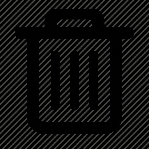 delete, garbage, refuse, remove, rubbish, trash icon