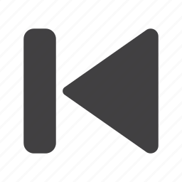 arrow, audio, backward, music, play, previous, sound icon