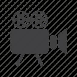 camera, cinema, film, matinee, media, movie, video icon