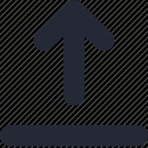arrow, cloud, file, up, upload icon